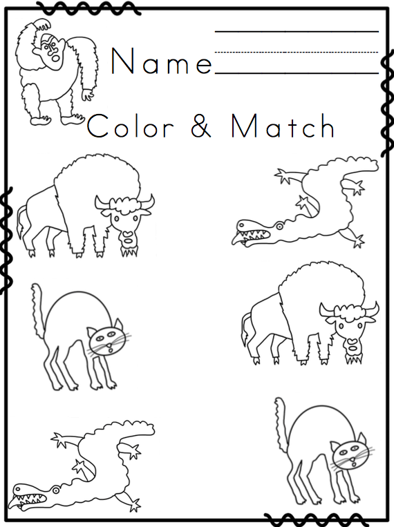 From Head to Toe Printable ~ Preschool Printables