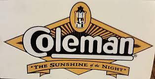Coleman Logo Google Search Coleman Sunshine Night