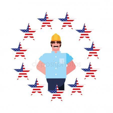 Flat design people happy labor day - Stock Vector , #SPONSORED, #people, #happy, #Flat, #design #AD #happylabordayimages Flat design people happy labor day - Stock Vector , #SPONSORED, #people, #happy, #Flat, #design #AD #happylabordayimages