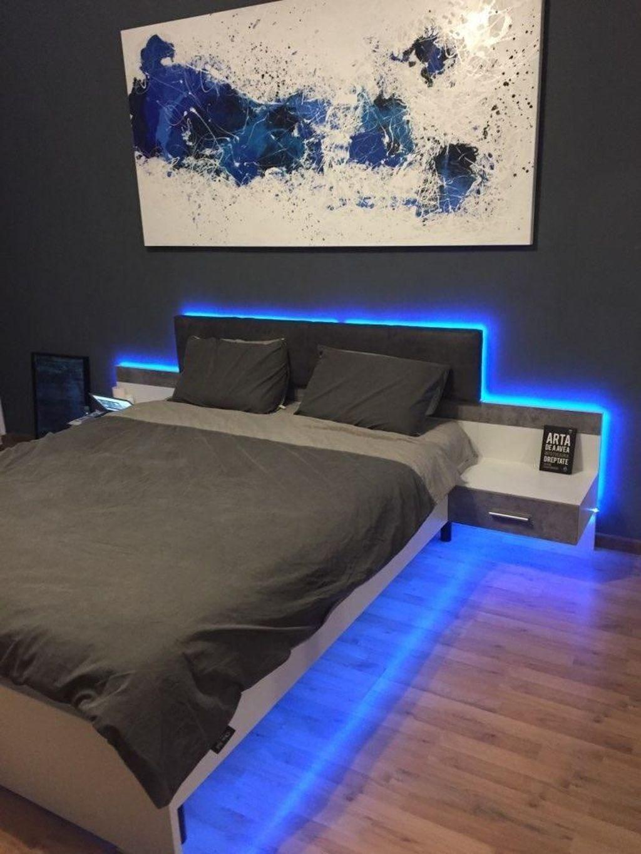 36 Cozy Boys Bedroom Decorating Ideas Boy Bedroom Design Bedroom Setup Led Lighting Bedroom