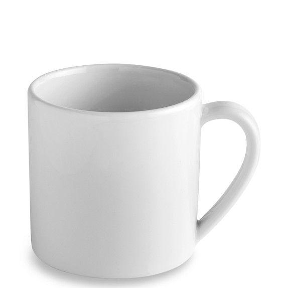 Apilco Tradition Porcelain Mugs Porcelain Mugs Porcelain Dinnerware Mugs