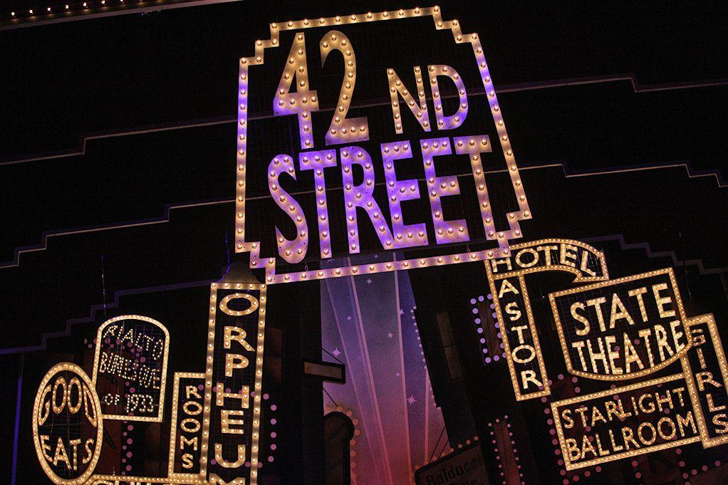 42nd Street Music Theatre Wichita Broadway Rentals 42nd Street