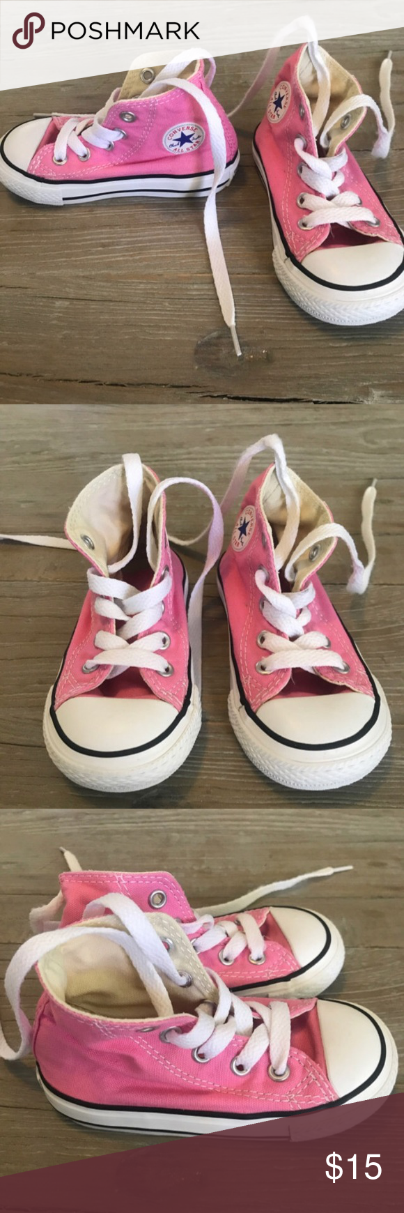 dfbef124bbde Size 6 Toddler Converse New