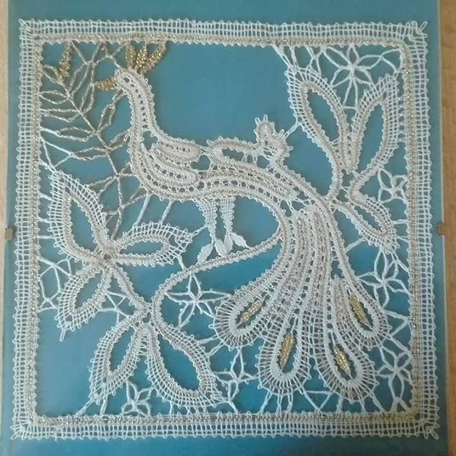 Entwurf Regine Siebdrath #bobbinlace #knipling #lace #klöppeln #encajedebolillos…