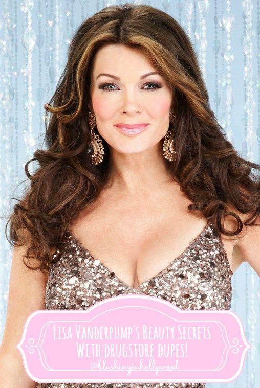 Lisa Vanderpump S Makeup Favorites With Drugstore Dupes Blushing In Hollywood Lisa Vanderpump Lisa Vanderpump Style Vanderpump Style