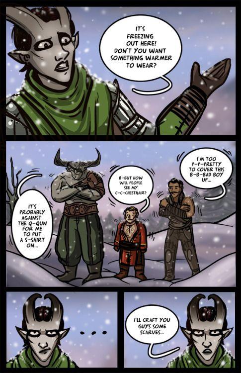dragon age Haven varric tethras dragon age inquisition valhallaARTS da:i iron bull dorian pavus