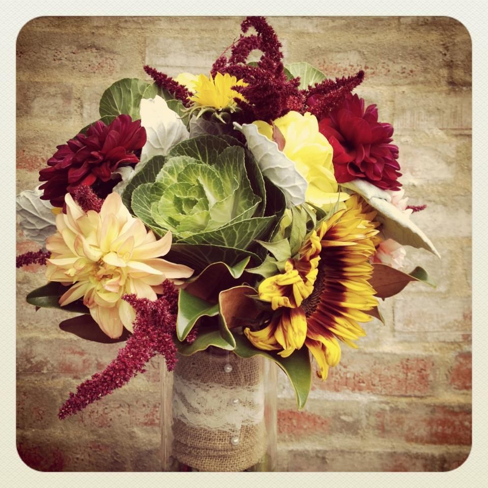 Wedding Flowers November: Fall/ November Wedding Bouquet Local Color Flowers