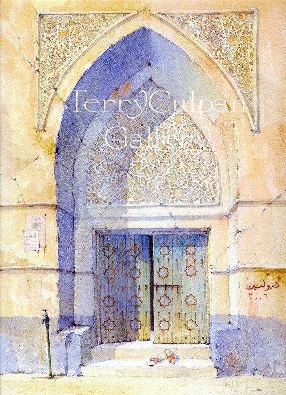 Arabian Door Saudi Middle East Eastern by TerryCulpanGallery