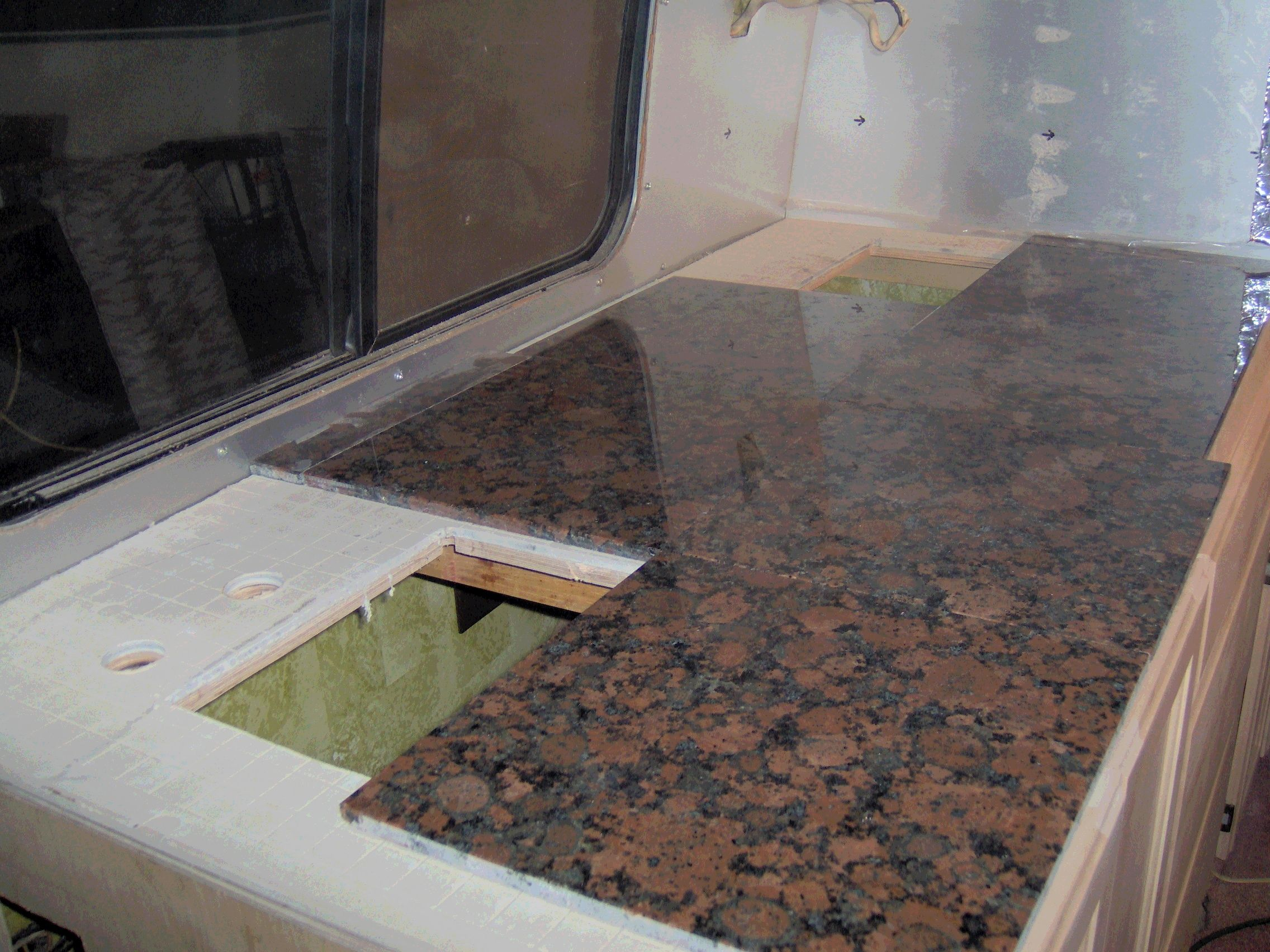 Granite Tile Kitchen Countertops Granite Tiles For Countertop