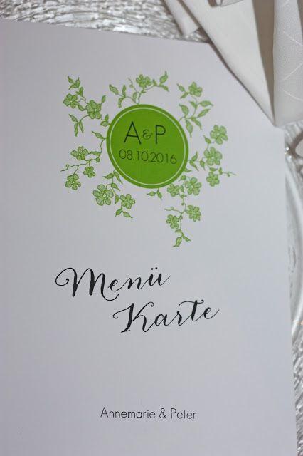 Menükarten die Kartenmacherei Grün-Weiß, Frühlingsdekoration Herbsthochzeit mit bunten Wiesenblumen im Hochzeitshotel Garmisch-Partenkirchen Riessersee Hotel Bayern, heiraten in den Bergen
