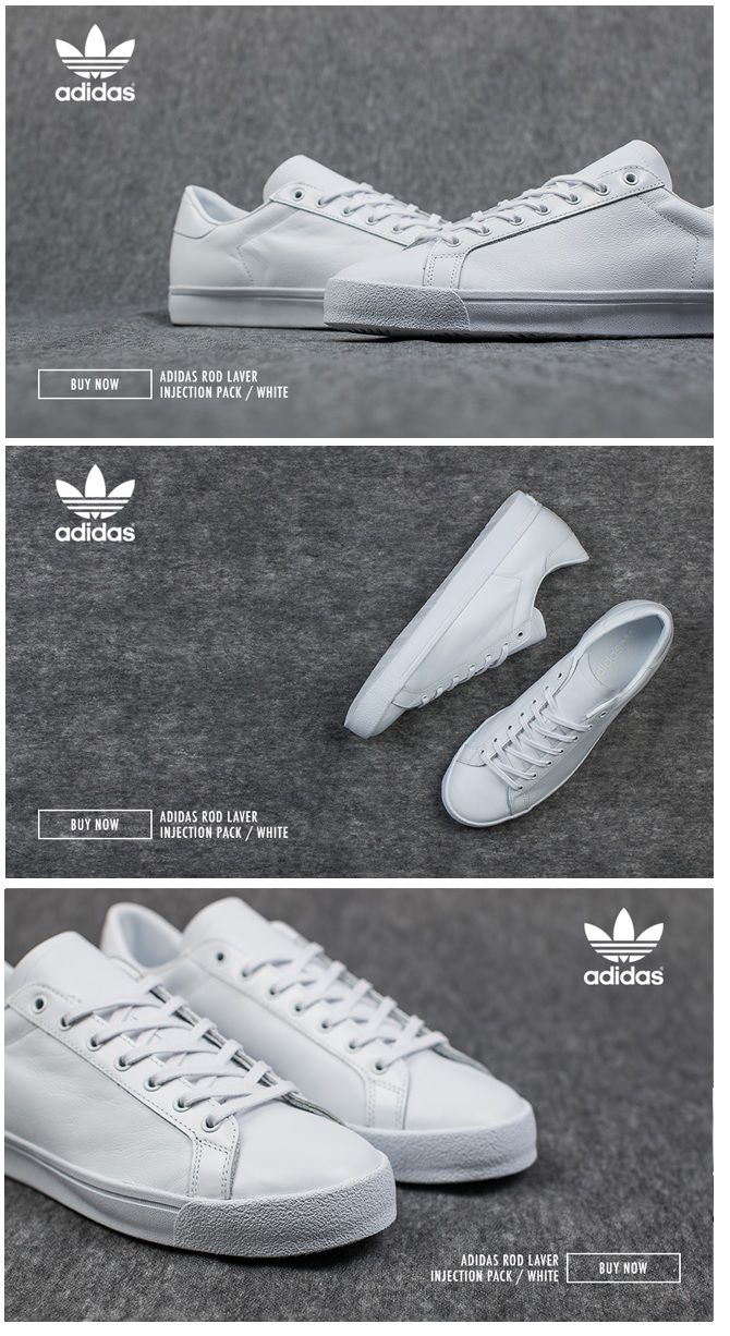 7ad32167f7 adidas Originals Rod Laver  Injection Pack