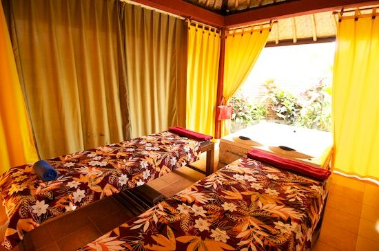 Massage à Bali :-)