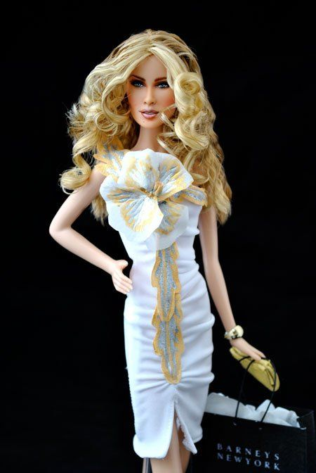 Carrie Bradshaw Ooak Barbie Doll By Magia 2000 From Sex