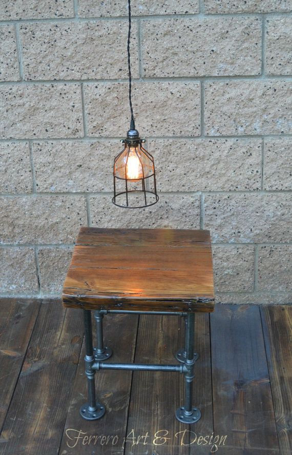 steampunk nightstand steampunk nightstand industrial decor by ferreroartdesign 780
