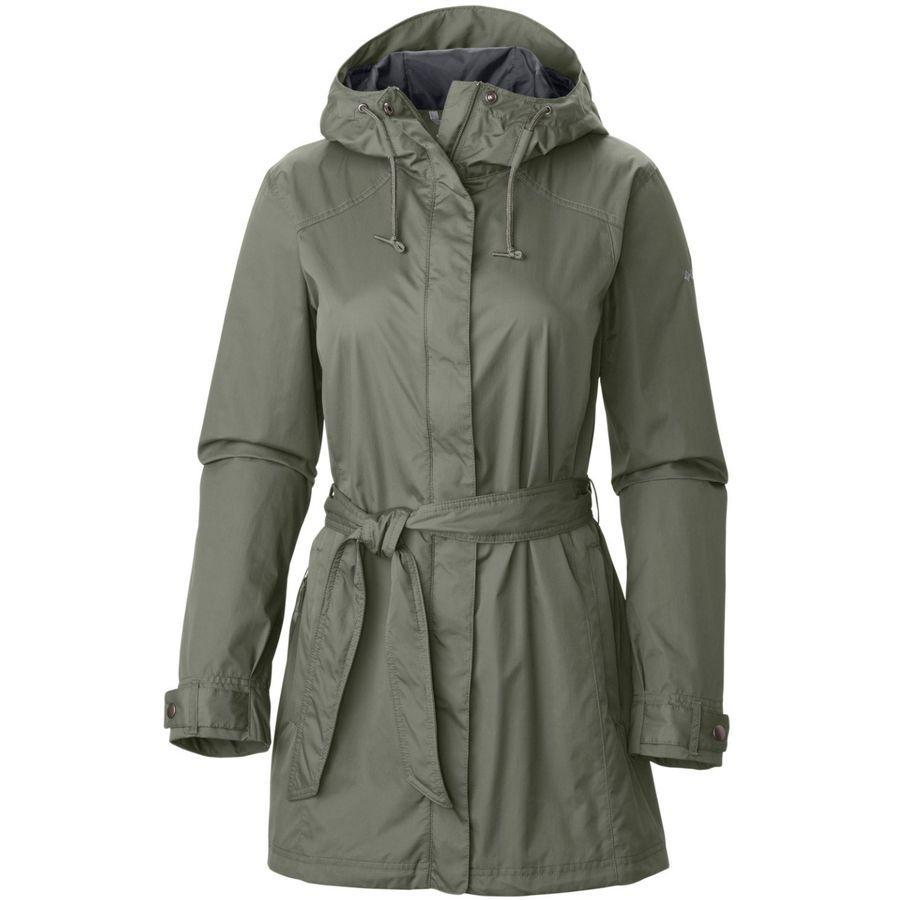 Columbia - Pardon My Trench Rain Jacket - Women's - Cypress