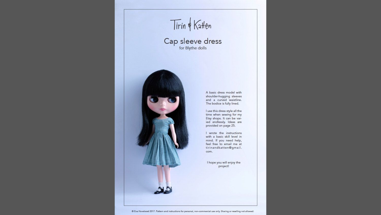 Dress pattern for Blythe dolls. Detailed instructions. by TirinAndKatten on Etsy https://www.etsy.com/listing/489949226/dress-pattern-for-blythe-dolls-detailed