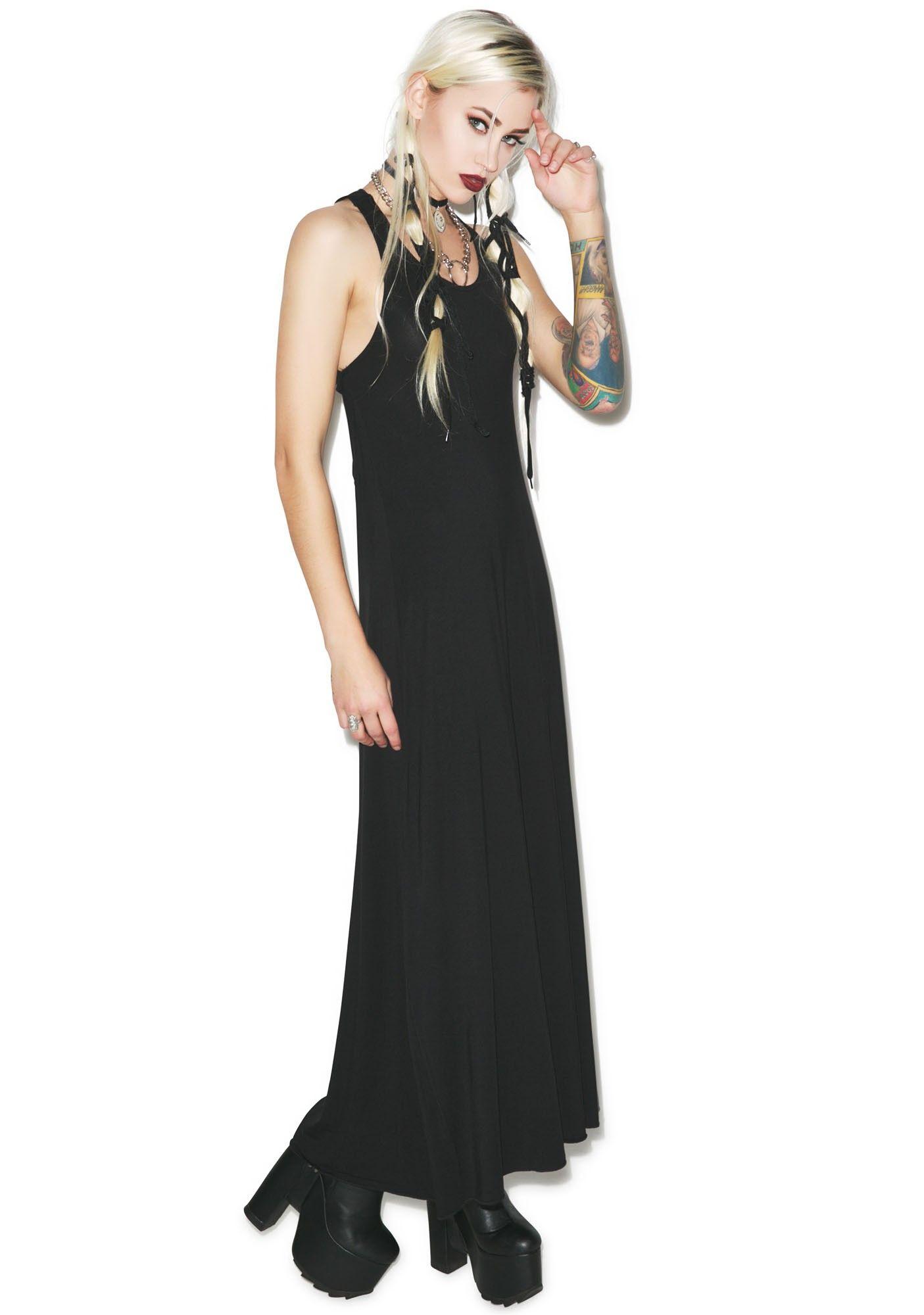 Kill Star Pentagram Maxi Dress