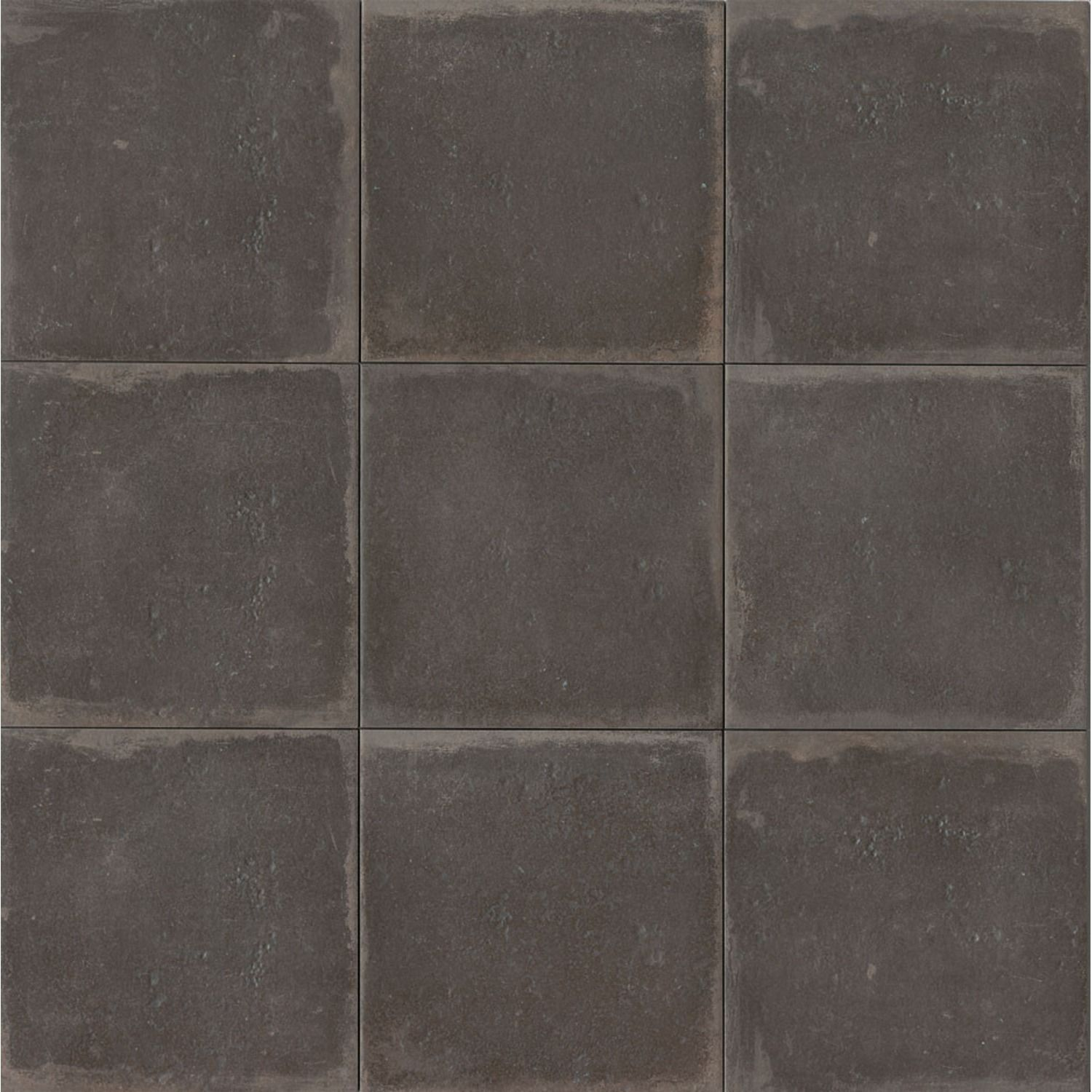 Palazzo 12 X 12 Floor Wall Tile In Castle Graphite Encaustic Tile French Country Decorating Palazzo