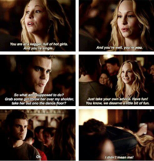 I don't really ship Steroline but this scene was adorable