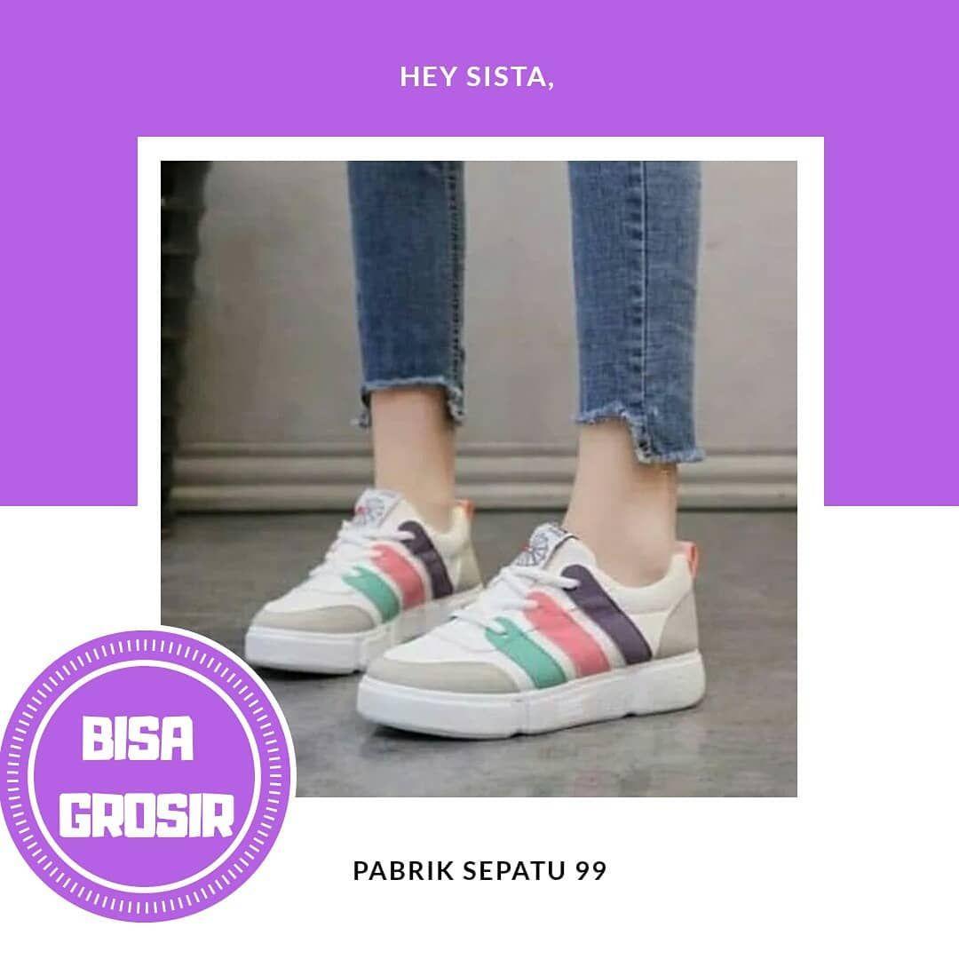 Jual Sepatu Wanita Sneakers Casual Murah Pusat Grosir Sepatu Dan