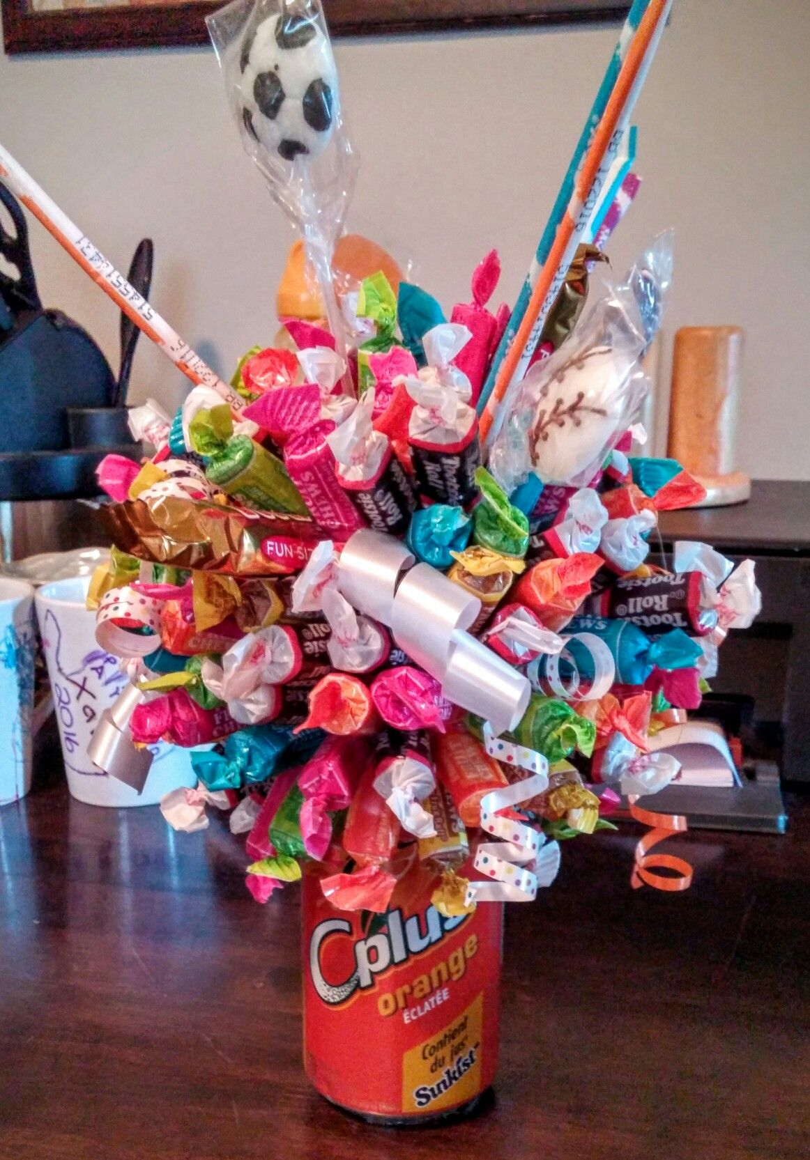 Pop Can Candy Bouquet Small Candy Only $10 Medium Candy