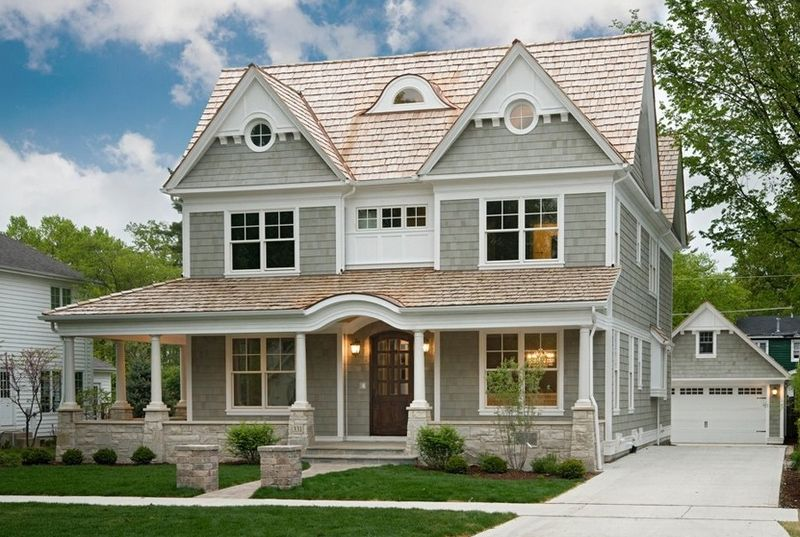 American house styles pinterest american for Types of houses in america