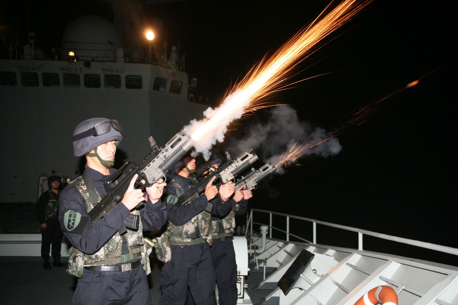 #noobtoobin Chinese People's Liberation Army Naval Special Operations Forces