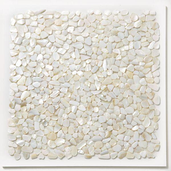 Seashell Tile Hula Coastal Shell Decorating Beach Decor
