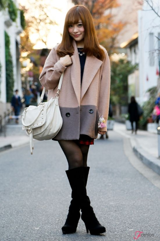 yoshimi akino's Autumn and Winter fashion snap from Tokyo ...