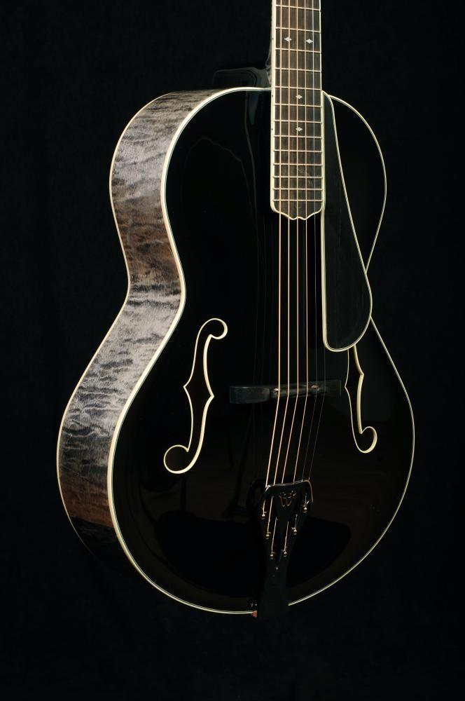 Weber Black Ice, beautiful figured sides.