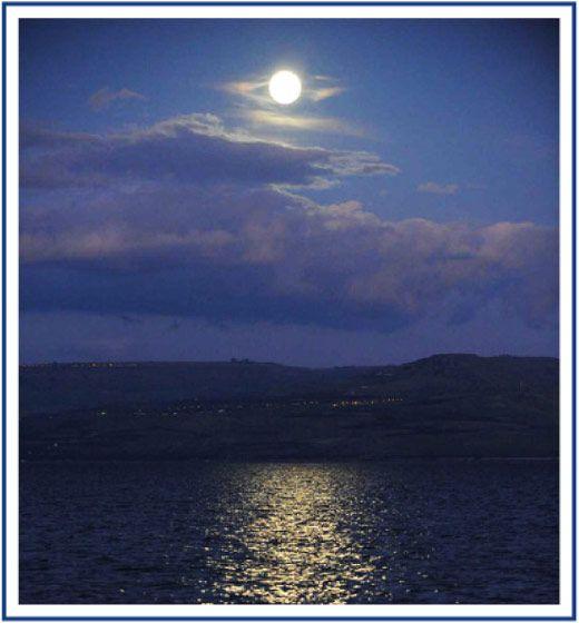 The Sea of Galilee, Israel