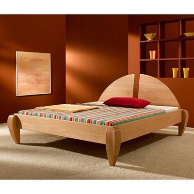 Feng Shui Bett Rion aus massivem Buchenholz Betten aus Massivholz