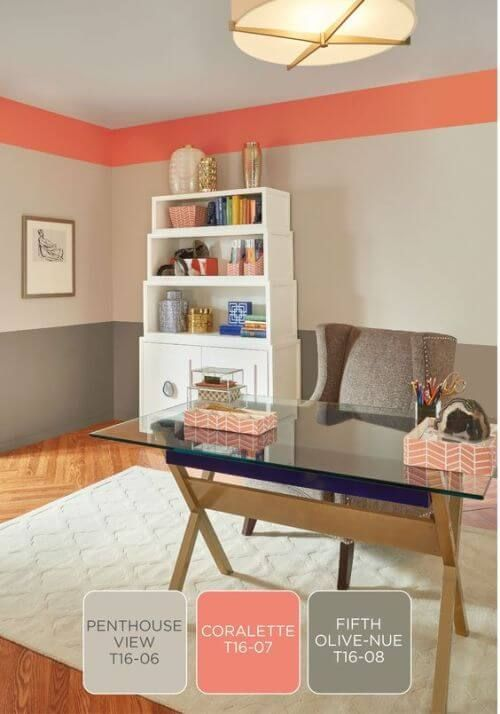 48 Best Home Office Color Ideas Epic Color Schemes For Home New Home Office Design Tips Painting