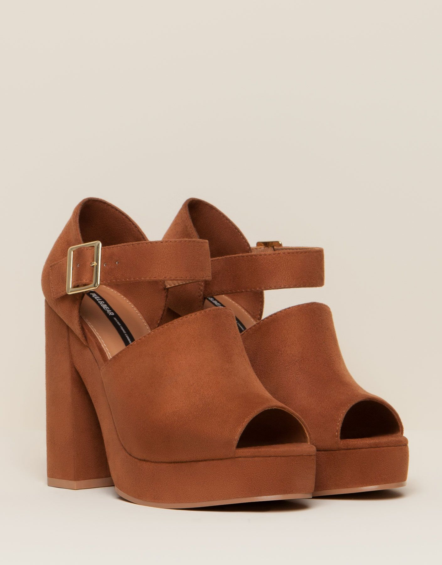 High Heel Shoes With Ankle Strap New Products New Products Pull Bear Tunisia High Heel Shoes Shoes High Heels