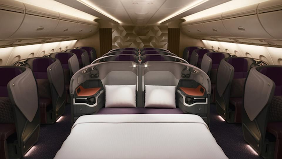 First Look At Singapore Airlines Amazing New First Class Suites Business Class Seats Singapore Airlines Business Class