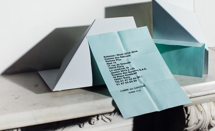 Fashion week A/W 2013 invitations: menswear collections | Fashion | Wallpaper* Magazine