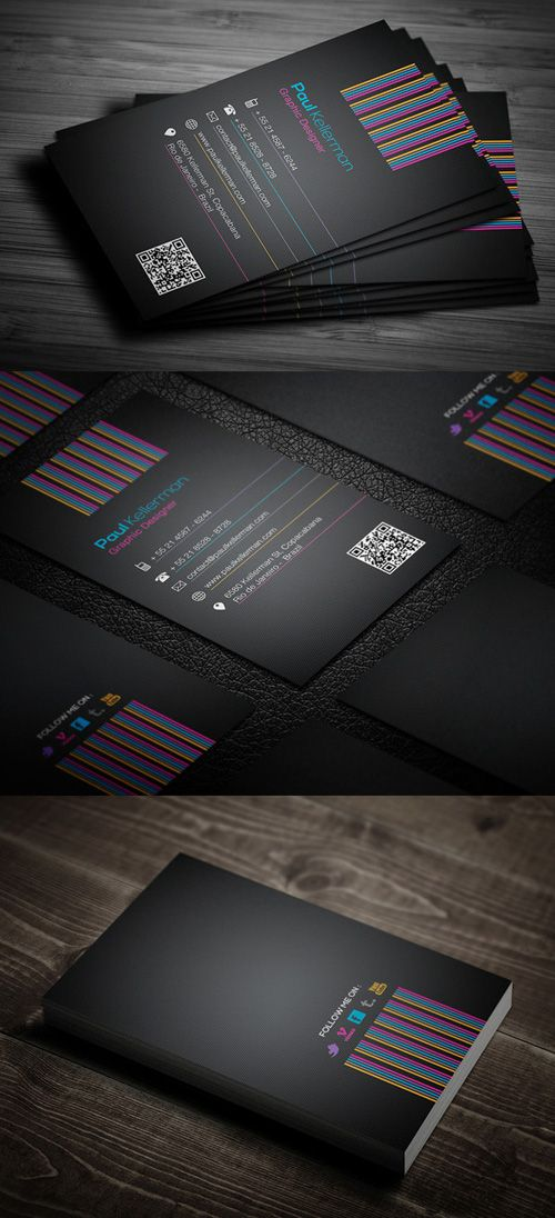 High Quality Modern Business Cards Design-15 | Business Cards ...