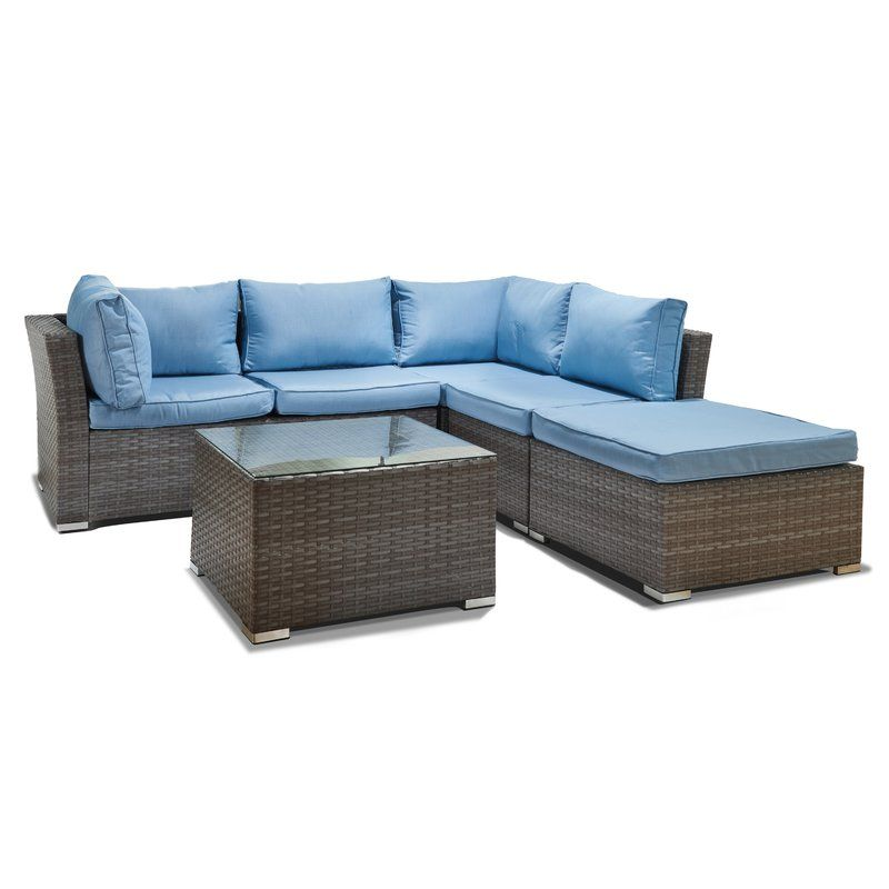 Janine 5 Piece Sectional Set With Cushions Our New Home Pinterest