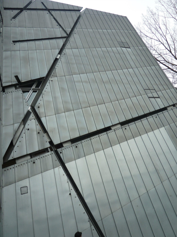 Berlin outdoor Jewish Museum - Libeskind