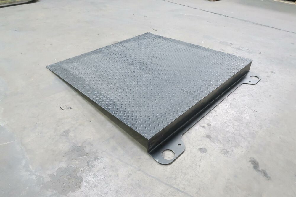 Ebay Sponsored Steel Floor Scale Ramp 48x48x4 1 2 In T129429 Floor Scale Patch Panels Flooring