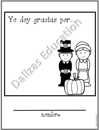 Acción de gracias   Thanksgiving   Feliz Día de Acción de Gracias ...