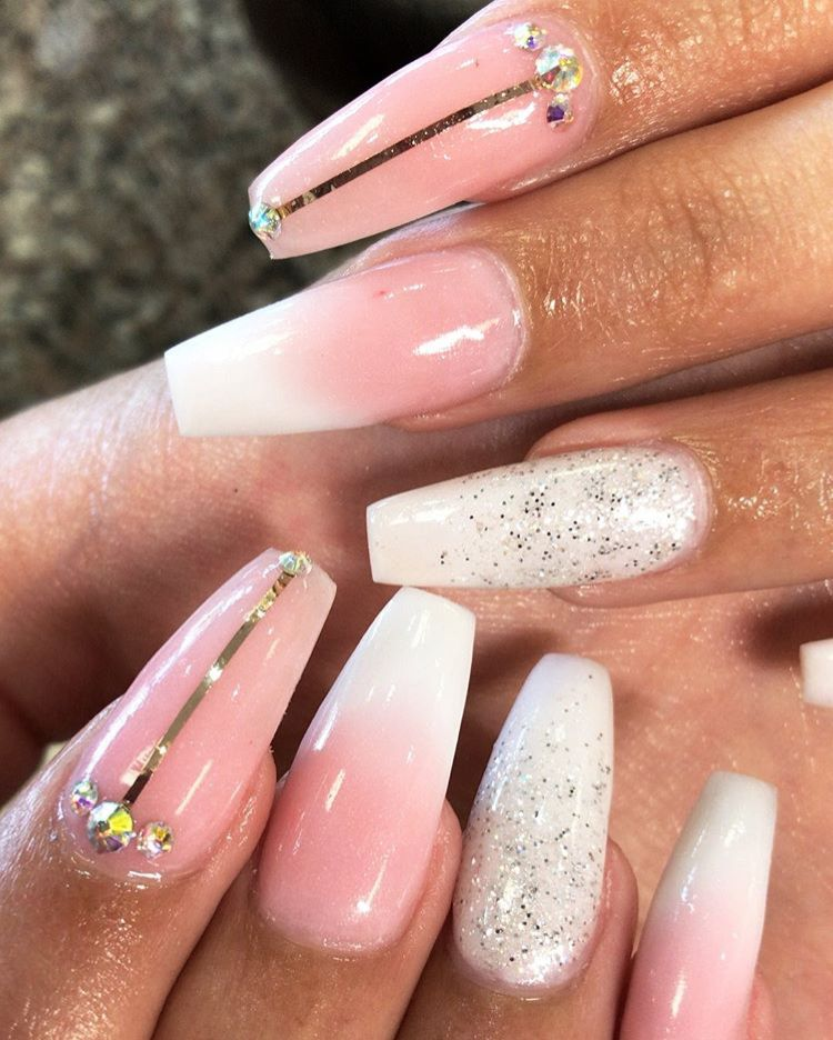 Pin by Jas Dior on Nail Ideas | Nails, Pink ombre nails ...