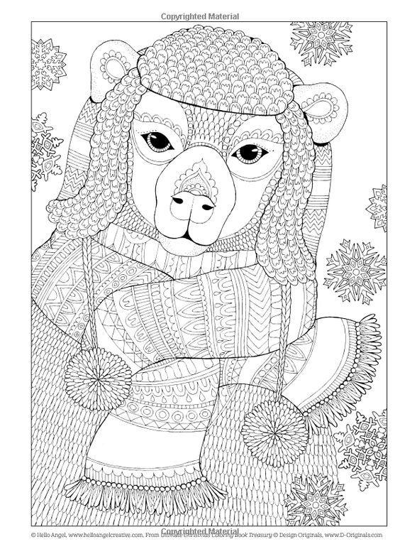 Pin de Barbara en coloring bear | Pinterest