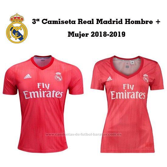 Comprar 3ª Camiseta Real Madrid 2018-2019 (Hombre+Mujer)  88ee886b04a77