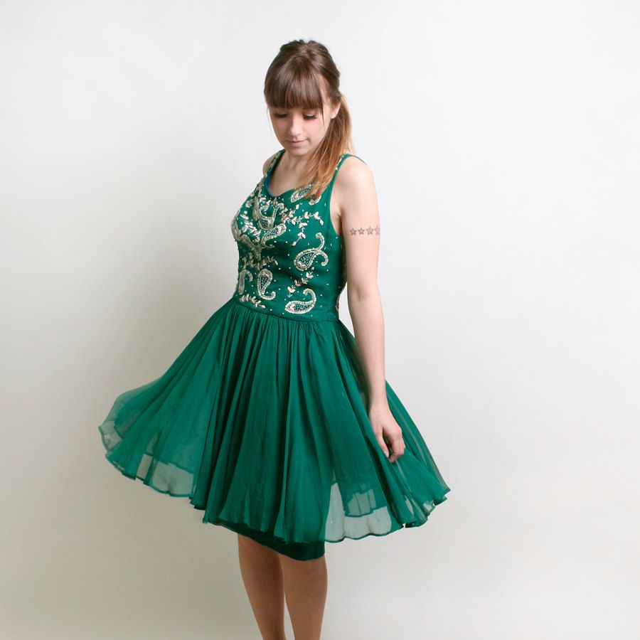Green Party Dresses