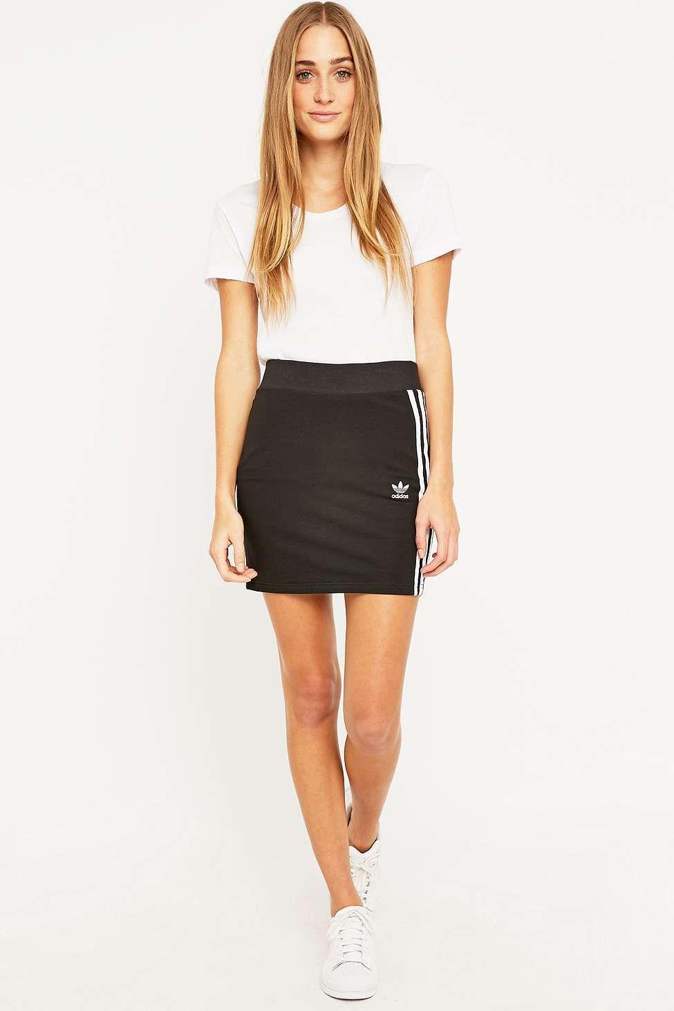 d8a5847716 adidas Three Stripe Black Mini Skirt   Swipe swipe   Adidas three ...