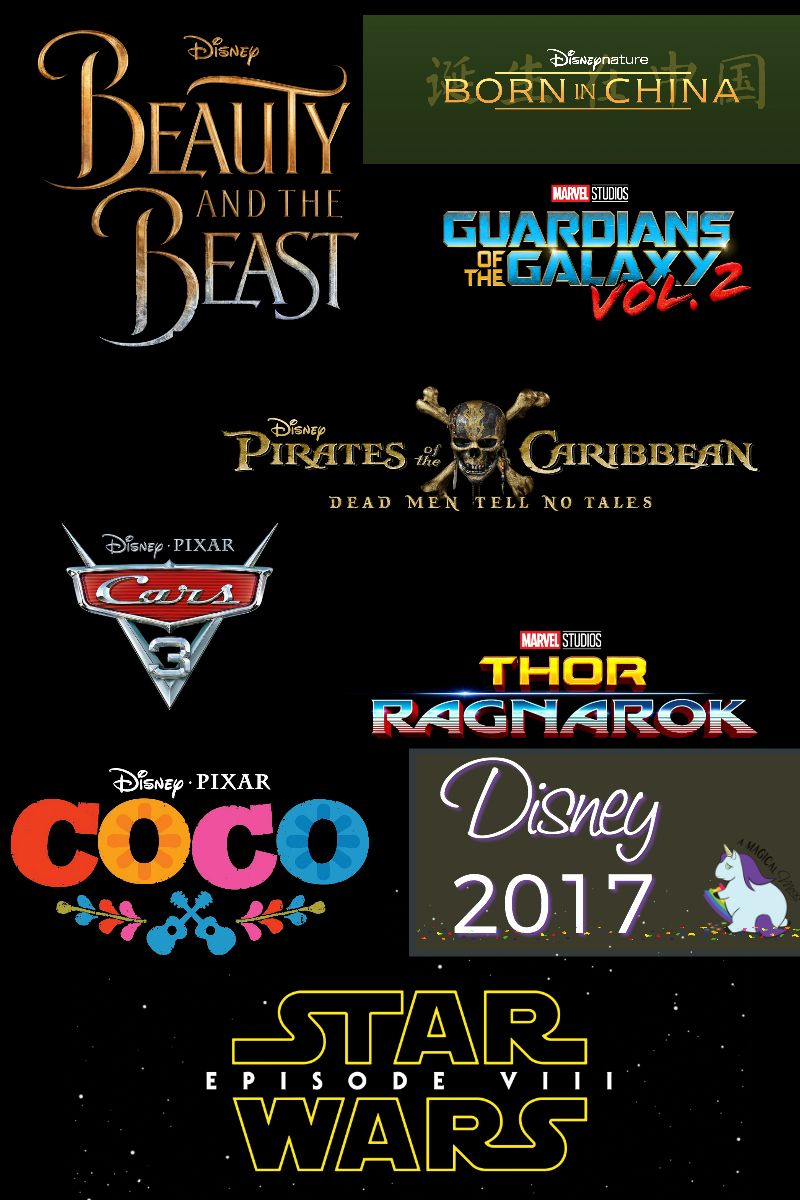 2017 List of Disney Movies with Trailers Disney movies