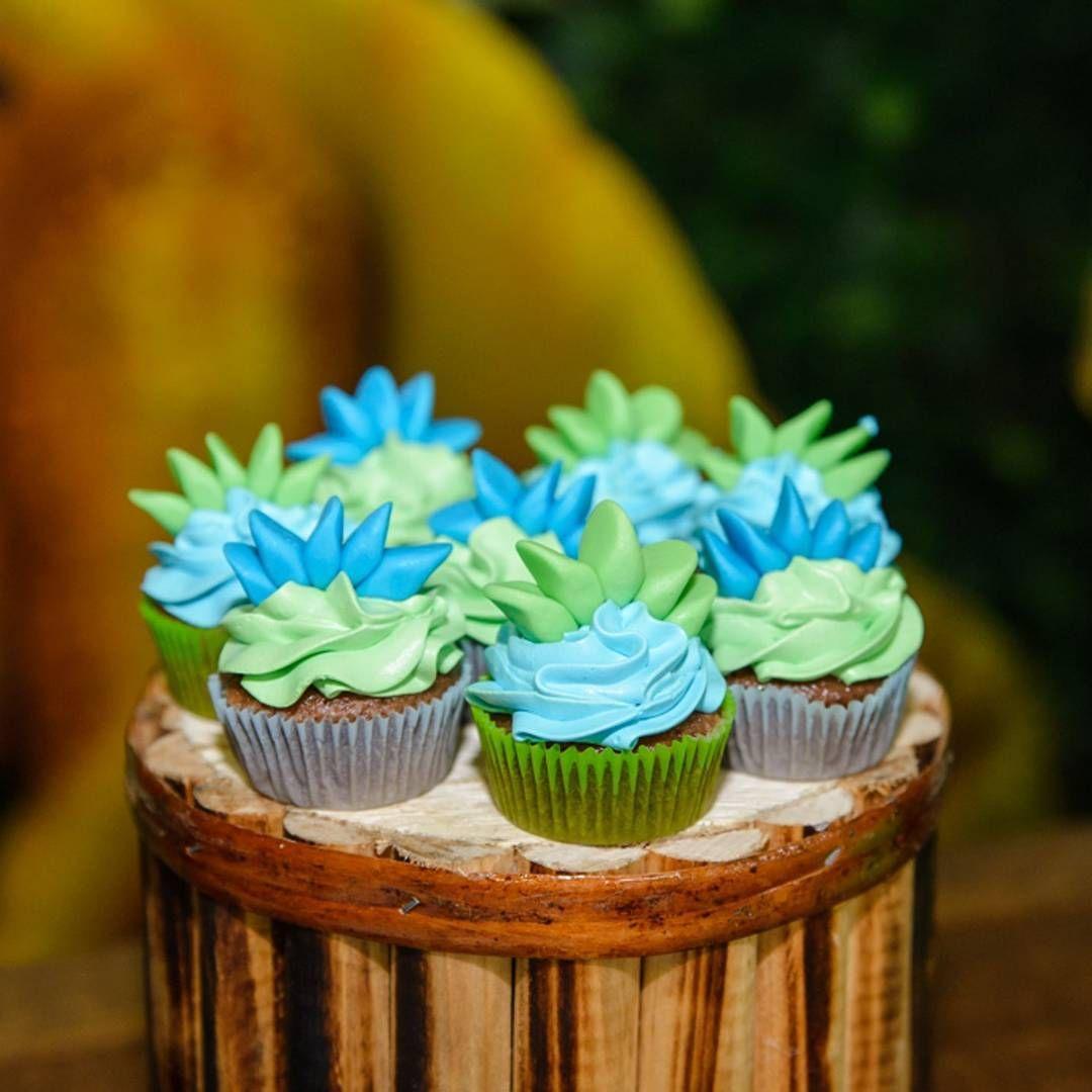 Ipecaramelo Ate Os Cupcakes Da Festa Estavam Decorados Com O Tema
