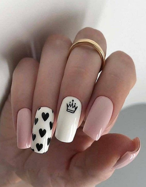 Perfect Best Nail Designs For The Year Of 2019 With Images Cute Acrylic Nails Pretty Nail Art Designs Square Nails