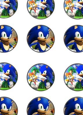 Sonic Birthday Party Printable Files